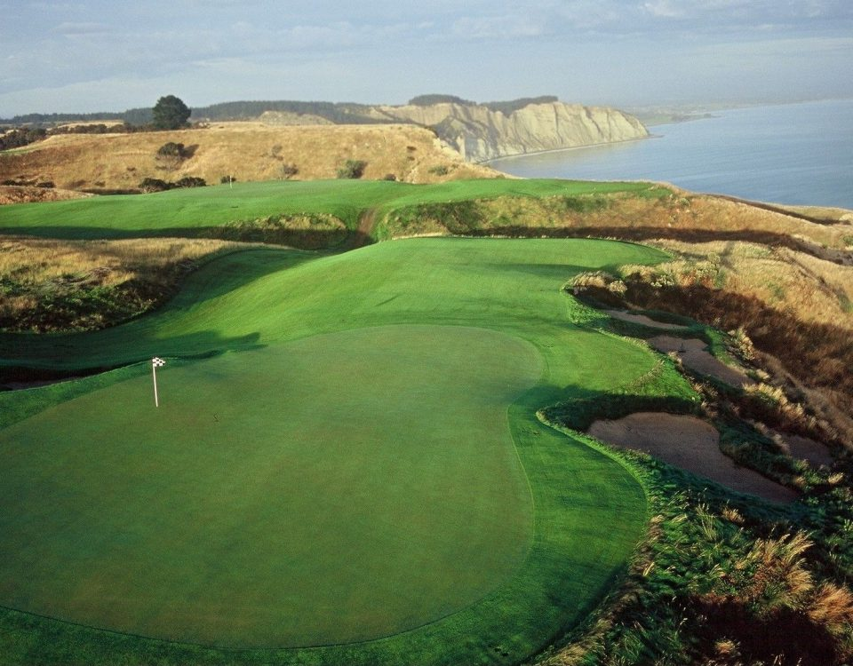 Golf Course at Cape Kidnappers, New Zealand ©Farm at Cape Kidnappers