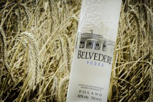 Belvedere Wodka is distilled from rye fields near Warsaw, Poland ©Belvedere