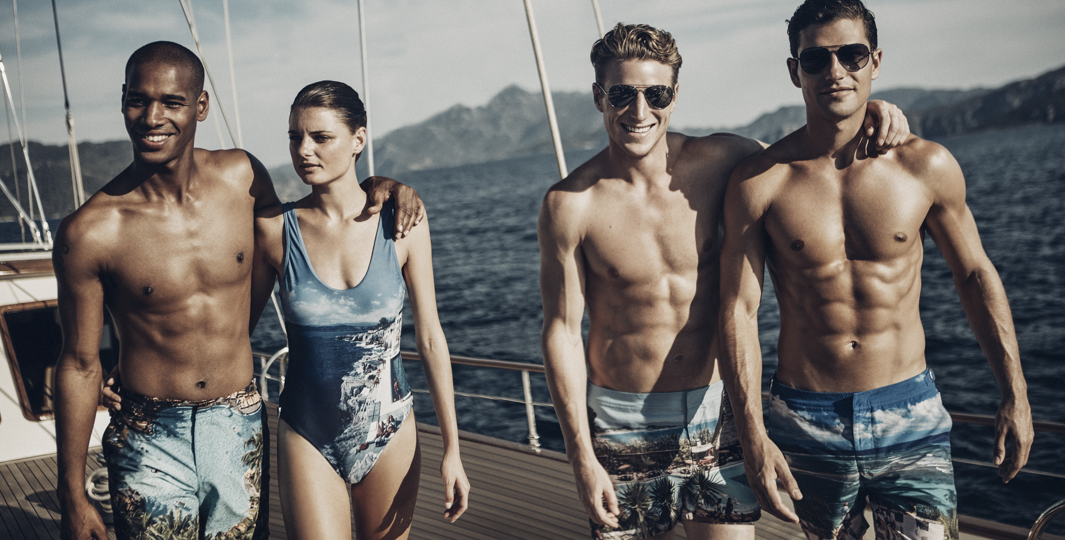 Men and women swimwear - by Orlebar Brown SS 2016 ©Orlebar Brown