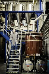 Inside Zyrardow Destillery workers, Warsaw ©Belvedere