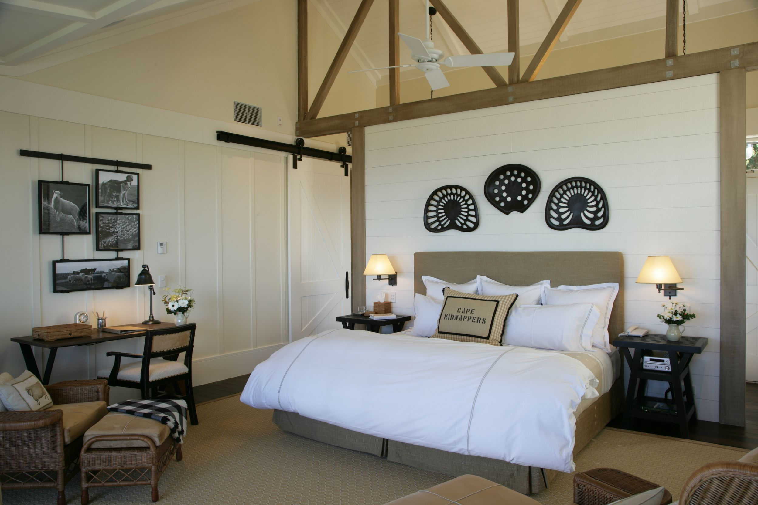 Room at Cape Kidnappers, New Zealand ©Farm at Cape Kidnappers