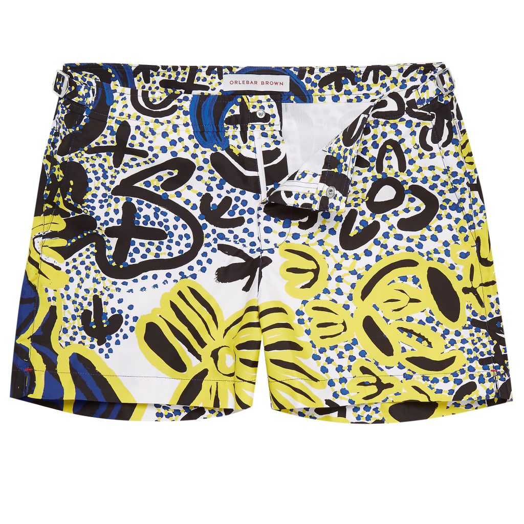Men trunks: SETTERABORIGINALPRINT_TURKEYDREAMING ©Orlebar Brown