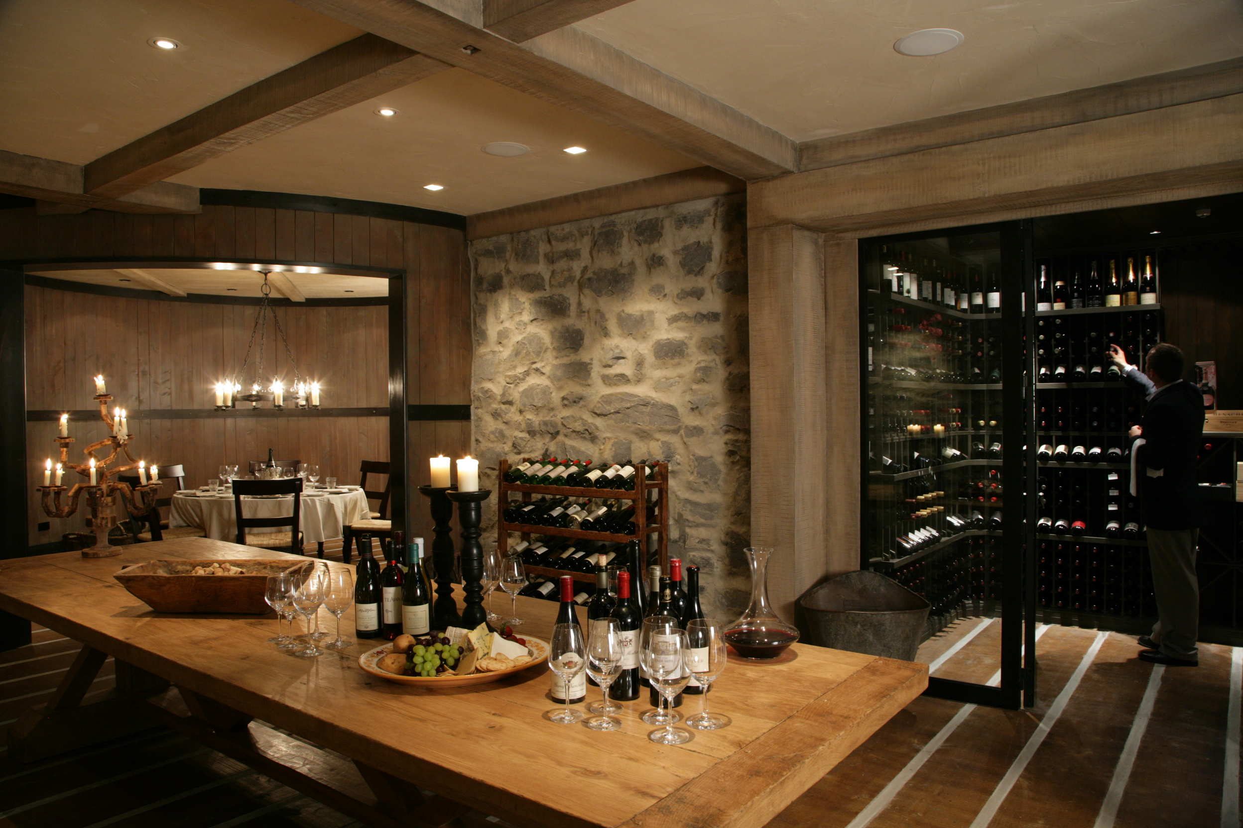Wine Cellar at Cape Kidnappers, New Zealand ©Farm at Cape Kidnappers