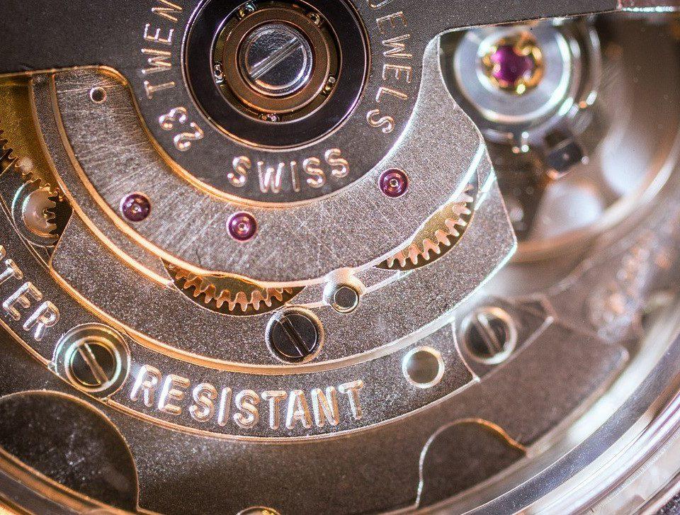 Schweizer Uhrwerk / Swiss Clockwork ©pixabay