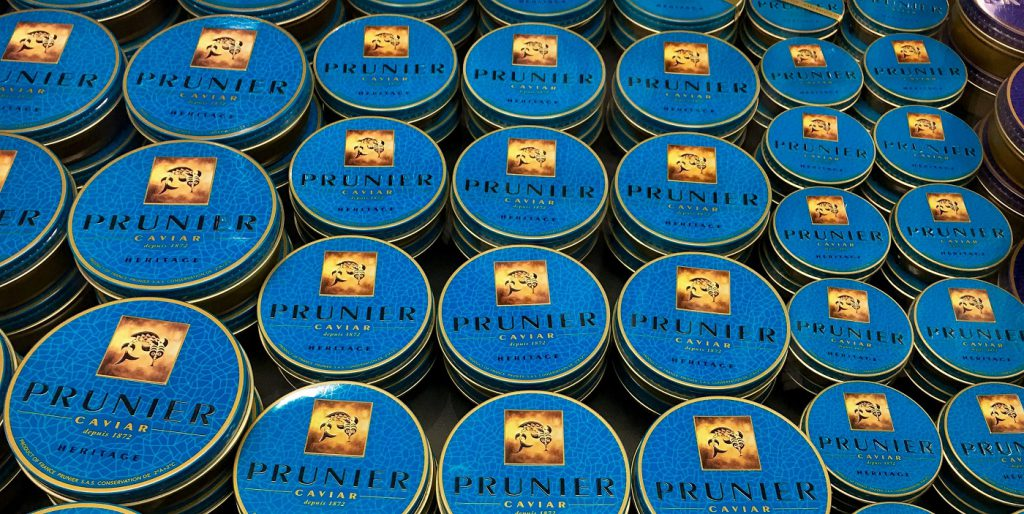 Prunier Caviar at Zurich Airport ©Patrick Lindner