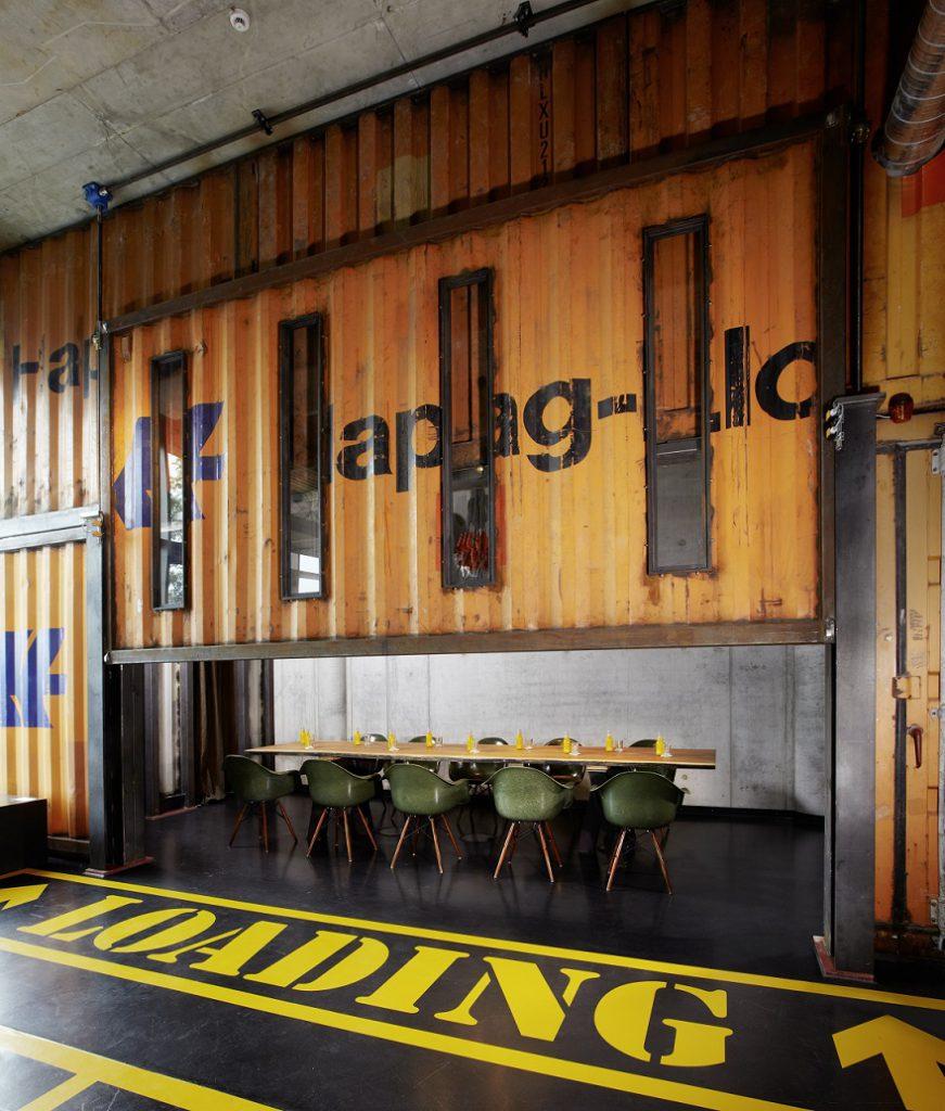 Lobby - 25h HafenCity Vinyl-Room   ©Stephan Lemke for 25hours Hotels