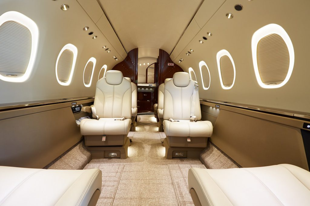 NetJets Privatjet Latitude Interior © Netjets Europe