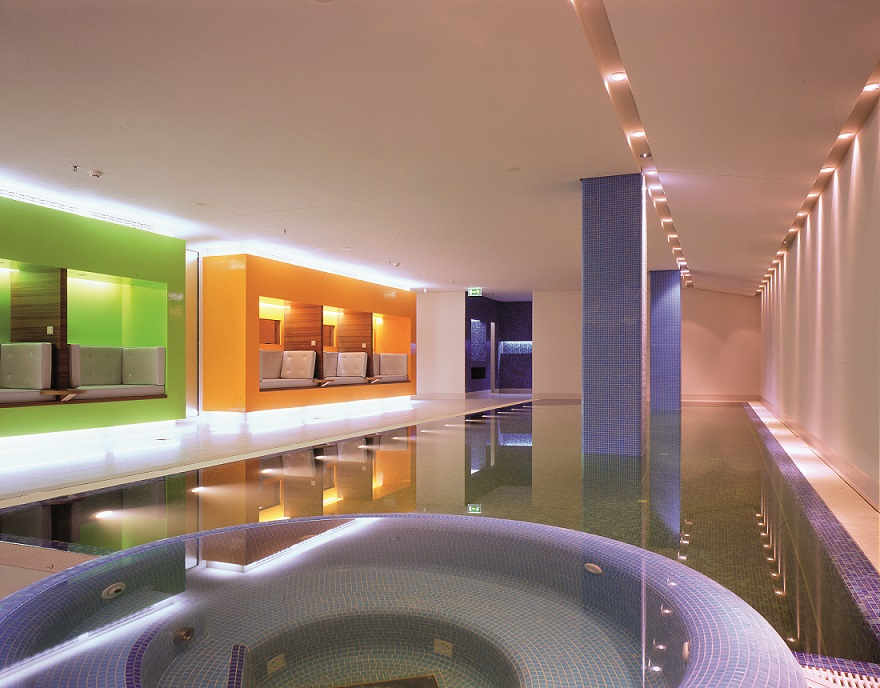 SIDE Hotel's huge wellness area includes a swimmingpool - ©SIDE Hotel